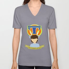The Future Is Now Unisex V-Neck