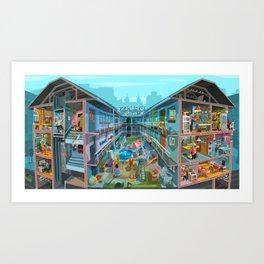 Budpapest bang summer Art Print