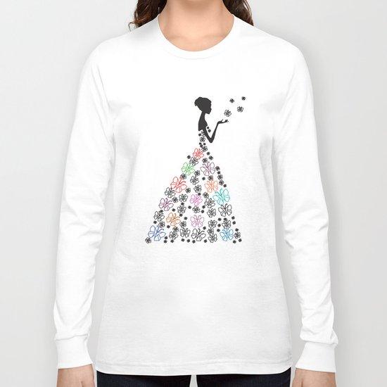 Origami Butterfly Dress No. 1 Long Sleeve T-shirt