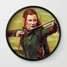 Archer Elf Wall Clock
