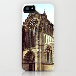 glasgow cathedral medieval cathedral iPhone Case