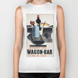 Vintage poster - Wagon-Bar Biker Tank