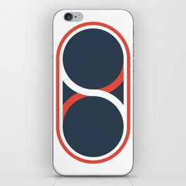 The Peace Pill iPhone Skin