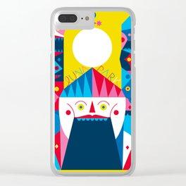 LUNA PARK - WELCOME Clear iPhone Case