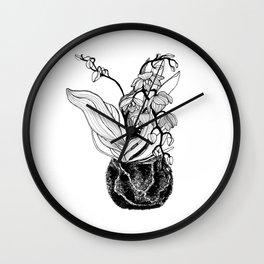 Orchid Kokedama Nr. 2 Wall Clock