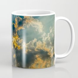Sun Coming Through the Clouds Coffee Mug