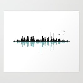 Music City Art Print