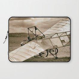 Old Airplane Laptop Sleeve