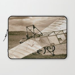 Old Airplane Laptop Sleeve