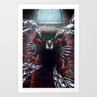spawn Art Prints featuring Spawn by Art by JP