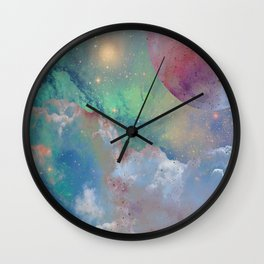 Out There Wall Clock
