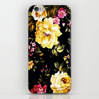 roses iPhone & iPod Skins featuring  Roses  by Saundra Myles
