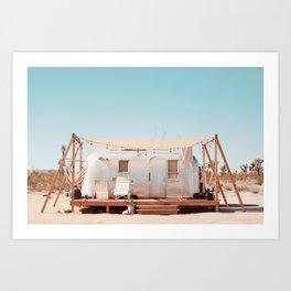 Airstream, Joshua Tree Acres 1 Art Print