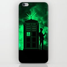 tardis doctor who iPhone & iPod Skin