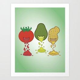 Taste Addiction Art Print