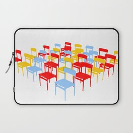 25 Chairs Laptop Sleeve
