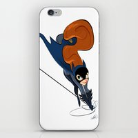 batgirl iPhone & iPod Skins featuring Batgirl by Dean Heezen Art
