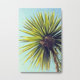 Tropical Shade Metal Print