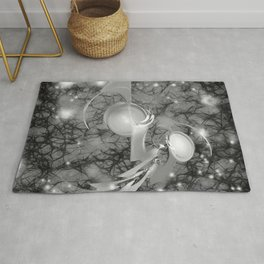 Alien life forms in chaotic space Rug