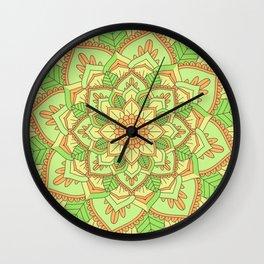 Colors V Wall Clock
