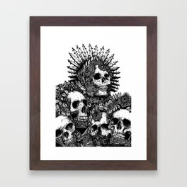 The Ancients Kings : Reunion Framed Art Print