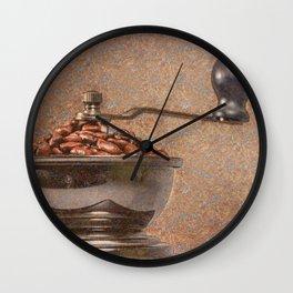 Coffee time/Kaffeezeit Wall Clock