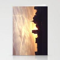nashville Stationery Cards featuring Nashville Skyline by  Dreambox Designs