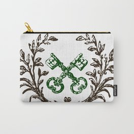 Keys with Flourish Carry-All Pouch