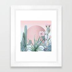 Desert Sunset by Nature Magick Framed Art Print