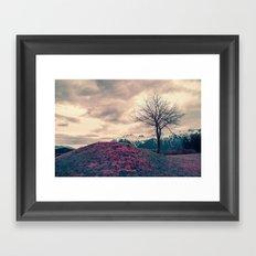 Japanese Mountains Framed Art Print