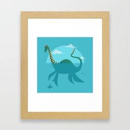 """Loch""""Ness"""" Monster Framed Art Print"""