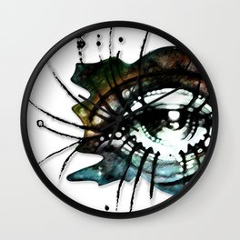 """La Nunca (She, the Never"") Wall Clock"