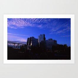New York Skylines  Art Print