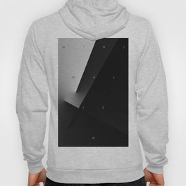 History of Art in Black and White. Minimalism Hoody