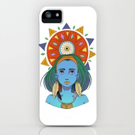 LOOK AT THE SUN iPhone Case