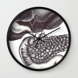 Ampulla of Vater and Sphincter of Oddi Interlude Wall Clock