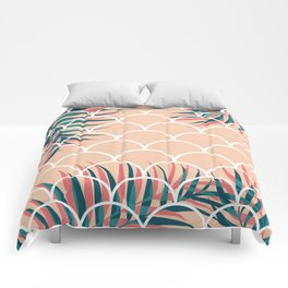 Tropical Window #society6 #decor #buyart Comforters