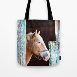 """""""Beauty in the Barn"""" Tote Bag"""