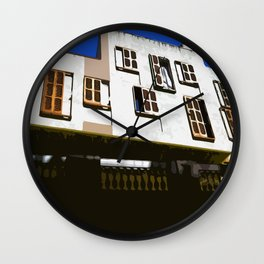 Barcelona Window's Wall Clock