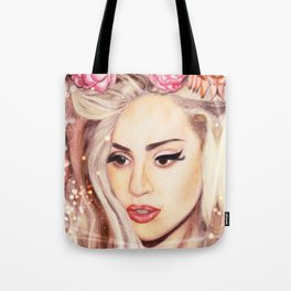 LADY GERMANOTTA Tote Bag