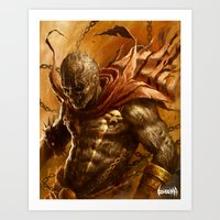 spawn Art Prints featuring Spawn by James Bousema