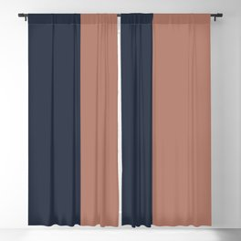 Color Block Abstract XVII Blackout Curtain