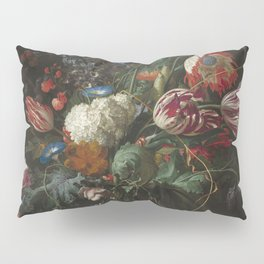 Jan Davidsz de Heem - Vase of Flowers (c.1660) Pillow Sham