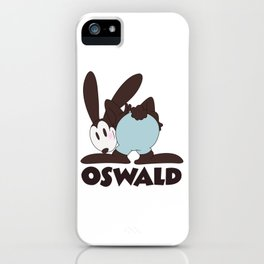 Oswald The Lucky Rabbit: The End (technicolor) iPhone Case