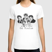one direction T-shirts featuring One Direction by Hollie B