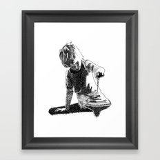Rippling Framed Art Print