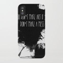 Graphic_ARt quote  iPhone Case
