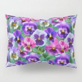 Bouquet of violets I Pillow Sham