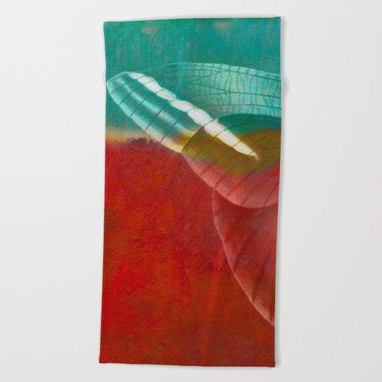 Moths 3 Beach Towel