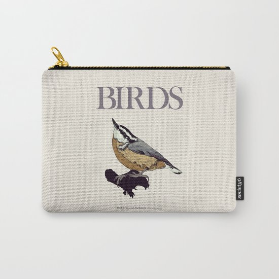BIRDS 01 Carry-All Pouch